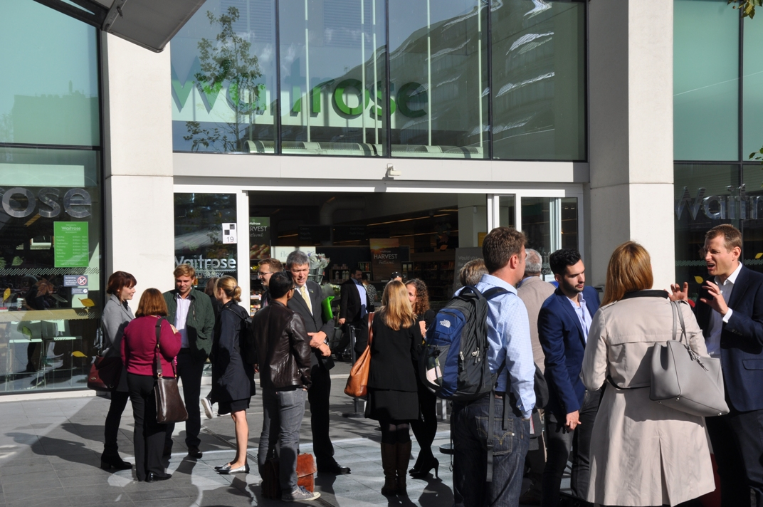 Guided tour of Waitrose